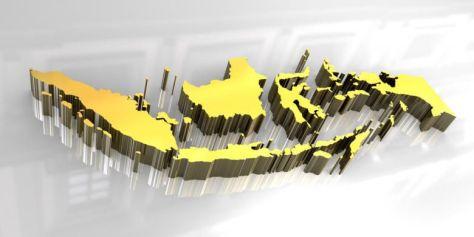 Peta Indonesia (SHUTTERSTOCK)