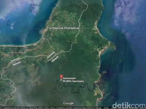 Peta Temajuk (Google) 1