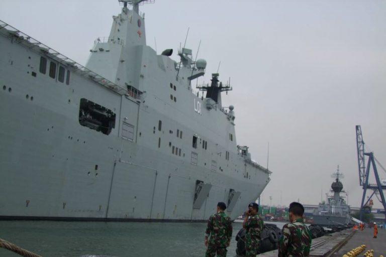Kapal Angkatan Laut Australia Berlabuh di Jakarta Sebagai Tanda Kestabilan Hubungan