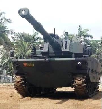 Tampilan Prototipe Medium Tank | LANCER CELL