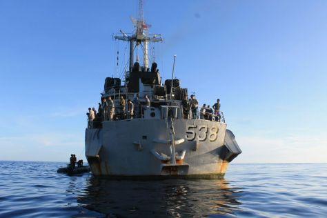 KRI Teluk Hading 538 (jurnal maritim)