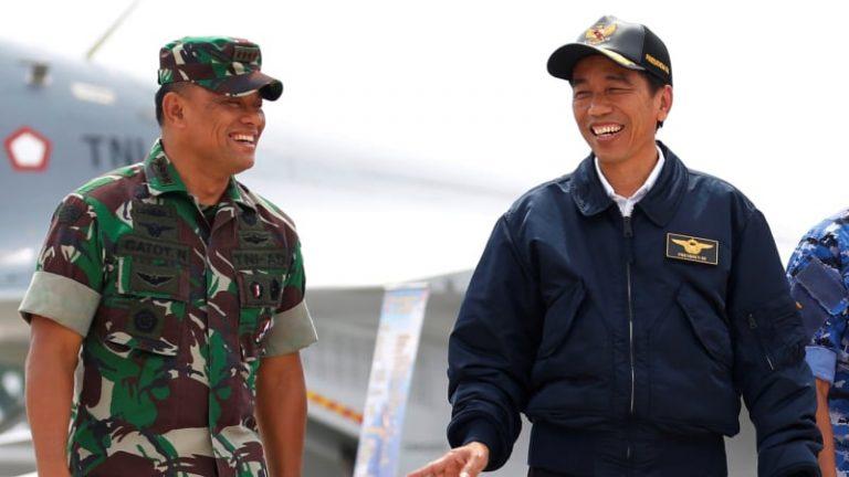 Panglima TNI Sudah Menghadap Presiden Terkait Polemik Senjata Ilegal