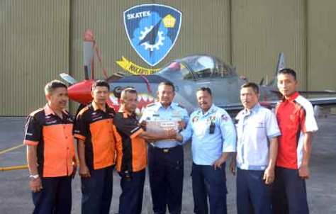 Skatek 022 Ganti Mesin Super Tucano (Malang Post)