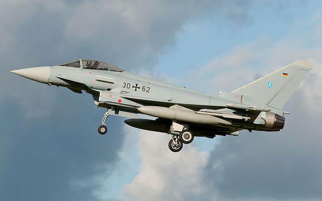 Eurofighter Tawarkan Typhoon Hadapi F-35 di Berlin Air Show