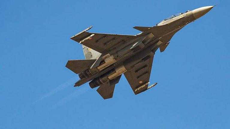 Jet Tempur Su-30MKI India Jatuh