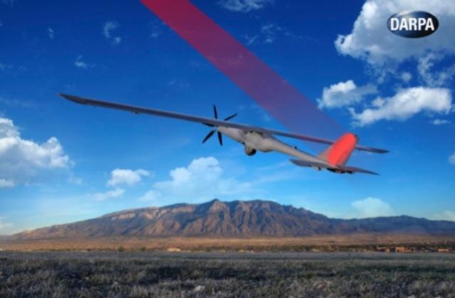DARPA Pilih UAV Untuk Pengisian Daya Melalui Laser