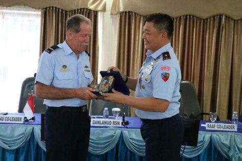 Danlanud Roesmin Nurjadin Pekanbaru Marsma TNI Ronny Irianto Moningka (Gatra)