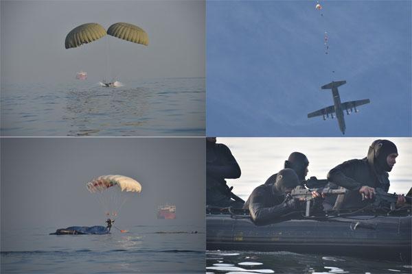 Taifib Korps Marinir Latihan Tekhnik Rubber Duck dan Junpur