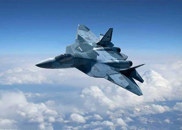 """""""Tanpa Sengaja"""" Rusia Ungkap Desain Pesawat Generasi Ke-6"""