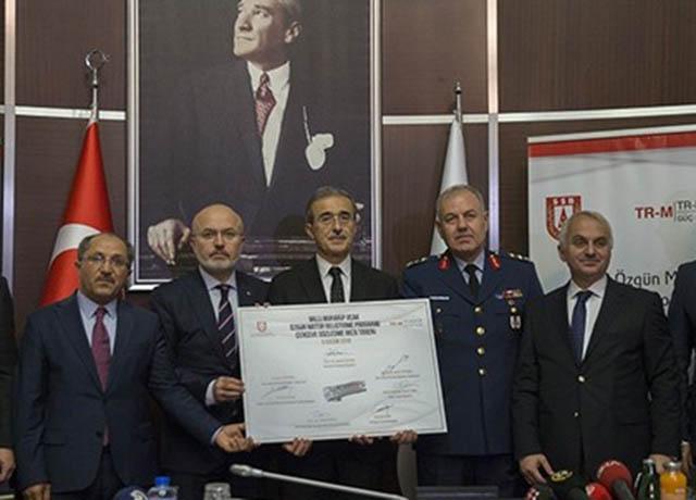Turki Teken Kontrak Pengembangan Mesin untuk TF-X