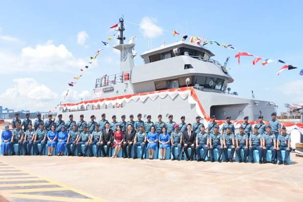 TNI AL Kembali Terina Dua Unit Kapal Latih
