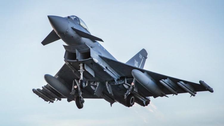 Bisa Jadi Pengubah Permainan, Typhoon Inggris Debut Membawa Rudal Meteor