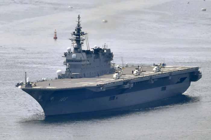China Kritik Rencana Jepang Modifikasi Kelas Izumo untuk Bawa F-35B