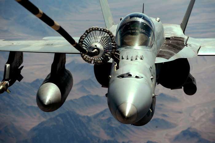 F/A-18 Hornet Tabrakan dengan KC-130, 5 Marinir Amerika Masih Hilang