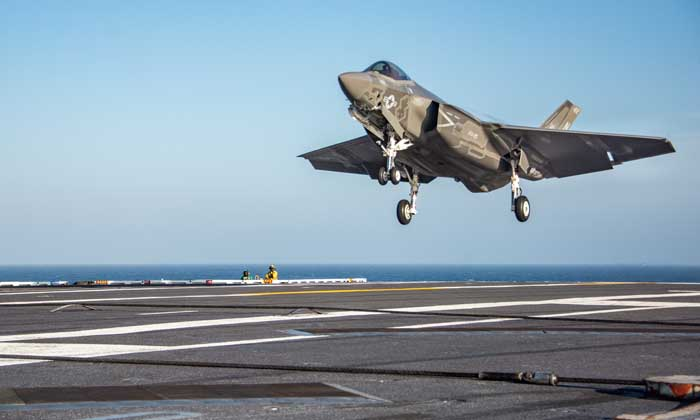 Jet Tempur F-35C Punya Masalah Besar