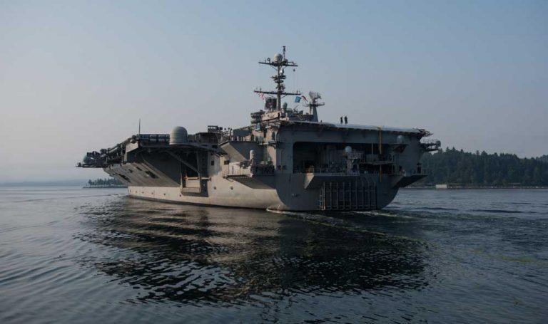 Kapal Induk Amerika Takkan Berani Apa-Apa dengan Kami