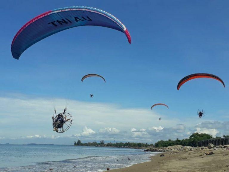 Refreshing Paramotor di Lanud Sultan Sjahrir Padang