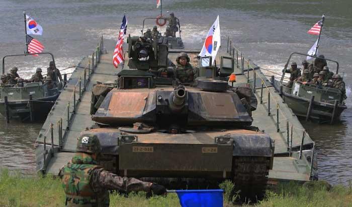 Trump Ingin Korea Selatan Bayar Rp23 Triliun/Tahun untuk Pasukan Mereka