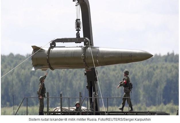 Angkatan Darat Rusia Dilengkapi Sistem Senjata Rudal Iskander-M