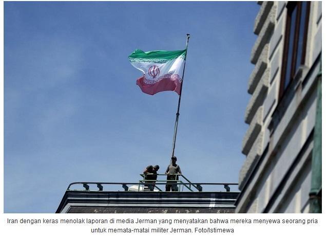 Iran Membantah Telah Memata-matai Militer Jerman