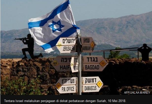 Israel Lancarkan Serangan Militer Terhadap Pasukan Iran Di Suriah