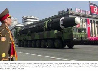 Korea Utara Memiliki 20 Bunker Pangkalan Rudal Konvensional