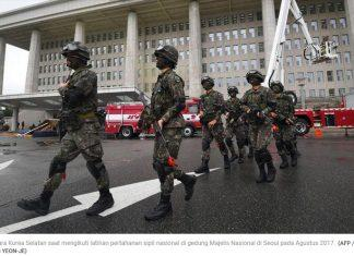 Media Korut Desak Korsel Hentikan Agenda Latihan Militer