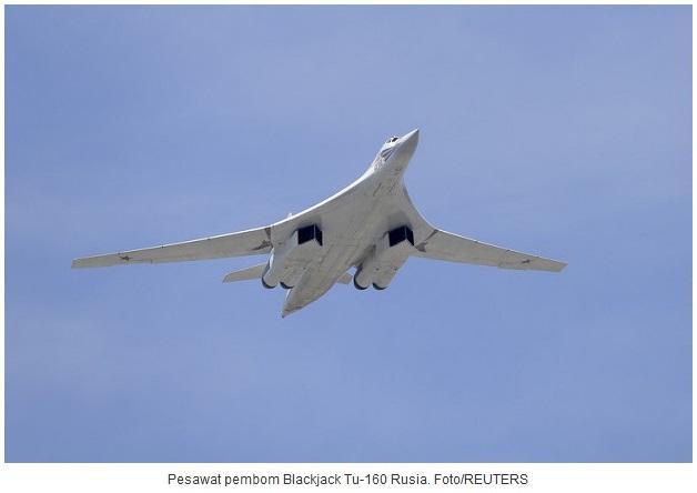 Pesawat Bomber Supersonik Rusia Berdengung Di Dekat Amerika Utara