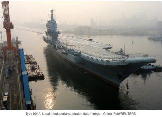 China Akan Bangun 4 Kapal Induk Nuklir Baru Untuk Saingi AS