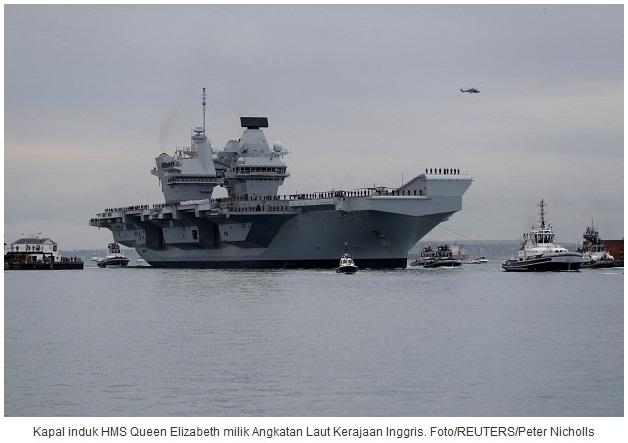 Ancaman Kirim Kapal Induk Inggris Batalkan Perundingan Dagang China
