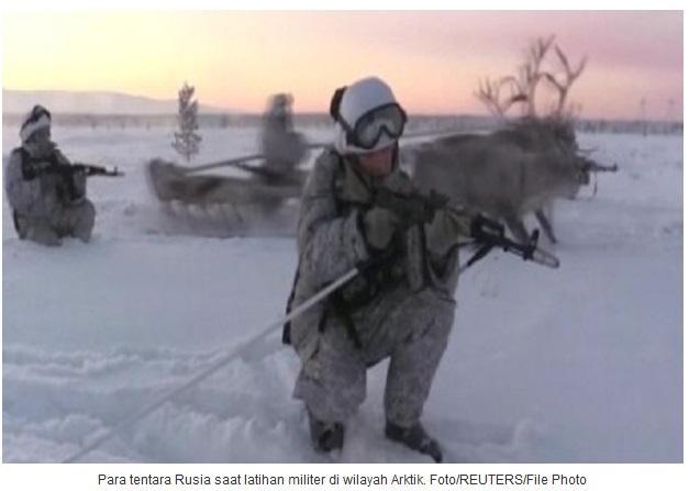 Untuk Melawan Aktivitas Rusia, Inggris Tumpuk Militer Di Arktik